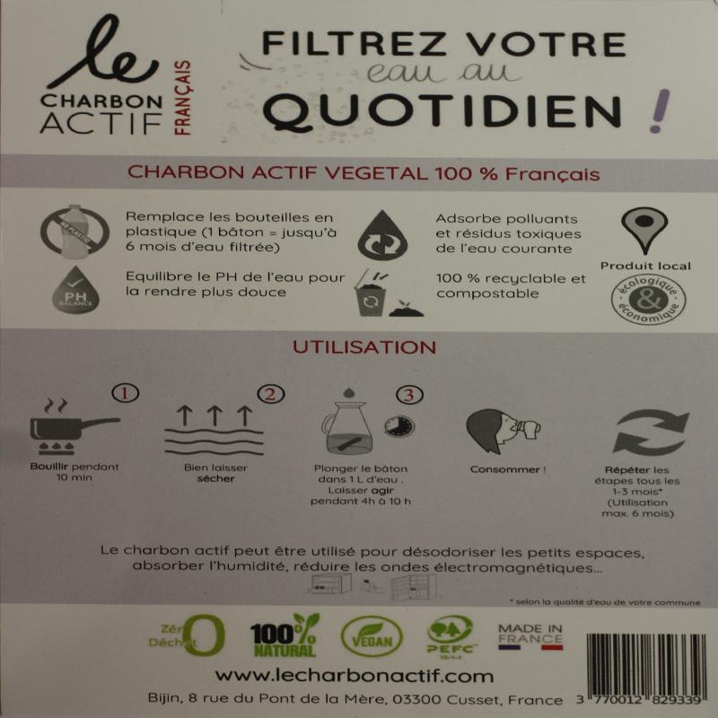 charbon actif Français explication