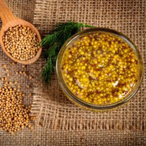 Moutarde Entière vinaigre de cidre Bio