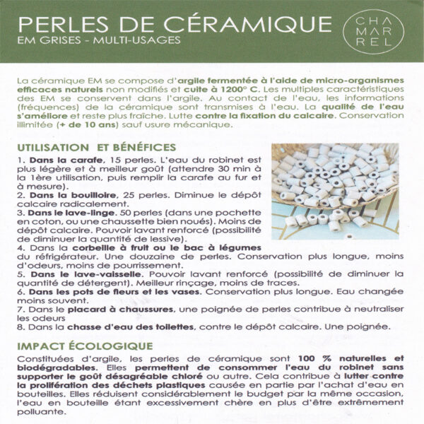 perles ceramique EM explication 1