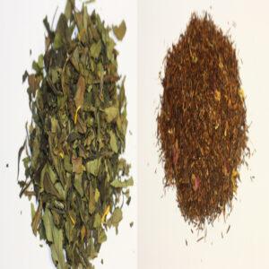coffret thé blanc rooibos