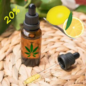 huile CBD Bio 20% arôme citron